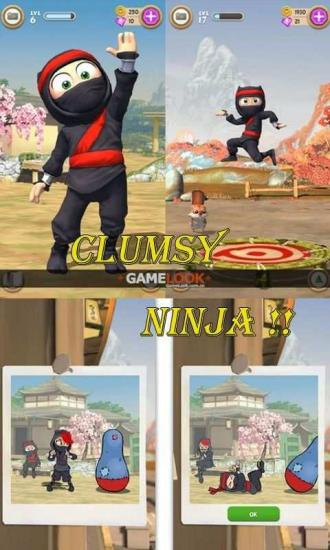 笨拙忍者Clumsy Ninja完整图文攻略