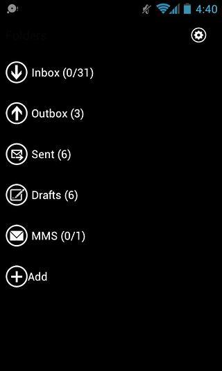GO短信-粉红色的主题