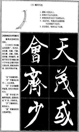 王羲之兰亭序行书教程