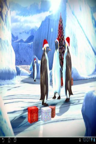 企鹅3D壁纸