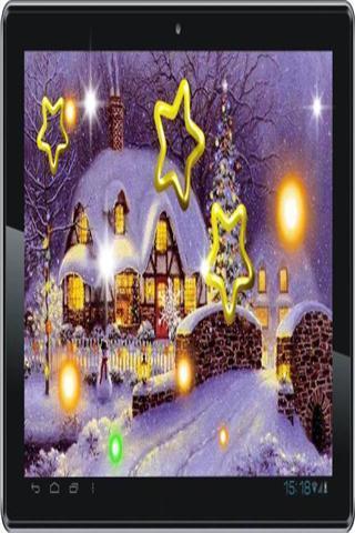 圣诞节降雪2014壁纸