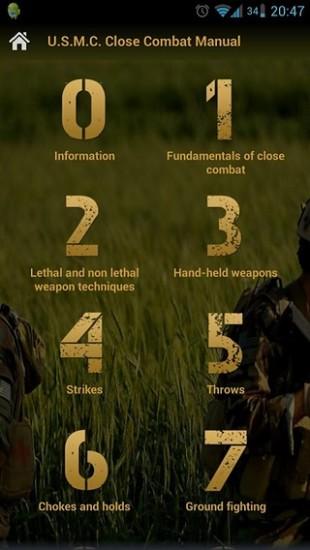 U.S.M.C. Close Combat Manual