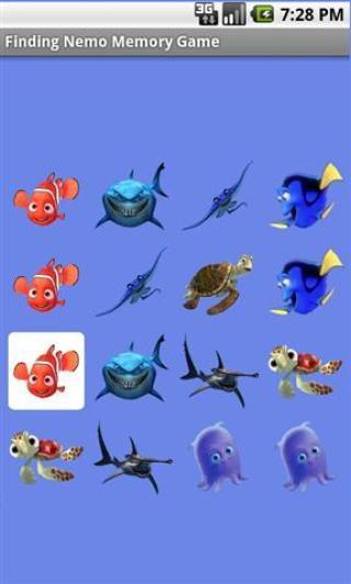 海底总动员记忆游戏