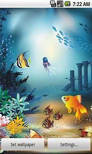 卡通海底世界壁纸