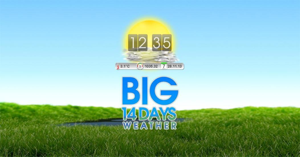 BIG 14 Days Weather