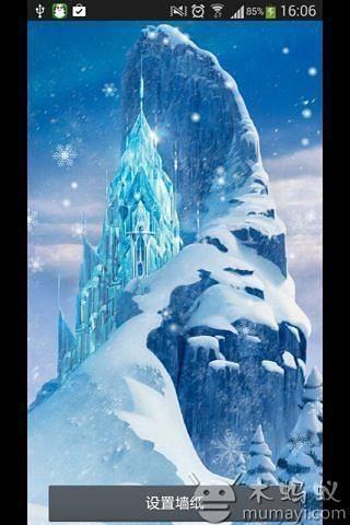 雪山-绿豆秀秀动态壁纸