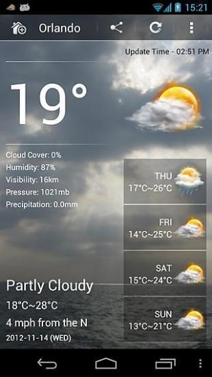天气预报-专业版