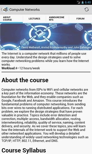 在线教育Coursera On The Go