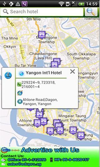 Yangon Maps Beta版