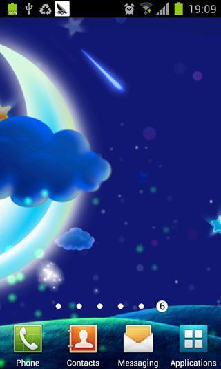 梦幻月亮星空壁纸
