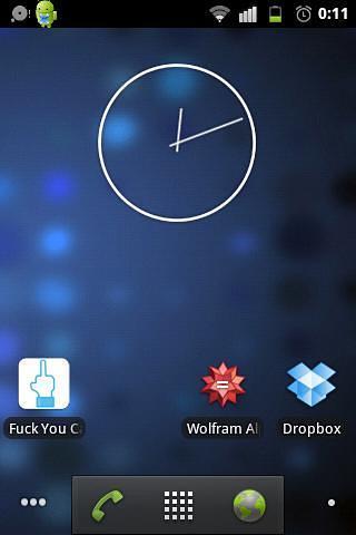 的Nexus 4时钟 果冻豆4.2