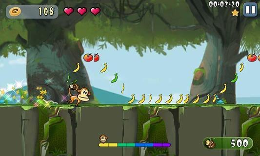 猴子摘水果