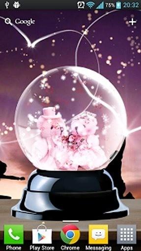 爱情水晶球动态壁纸