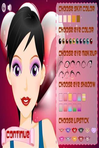 化妆及换装游戏