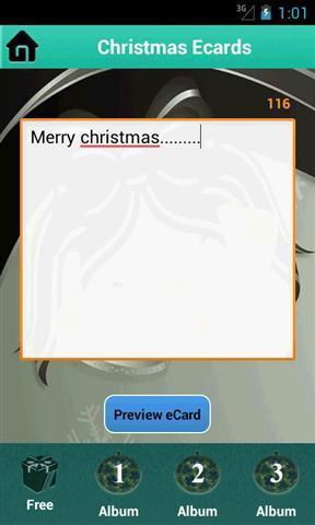 圣诞电子贺卡