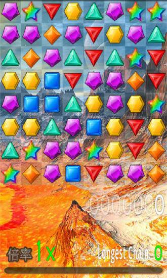 玩免費休閒APP|下載宝石迷情4 app不用錢|硬是要APP