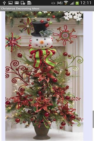 圣诞装饰想法