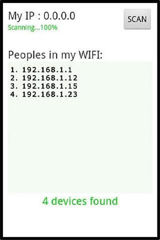 WIFI用户查看器
