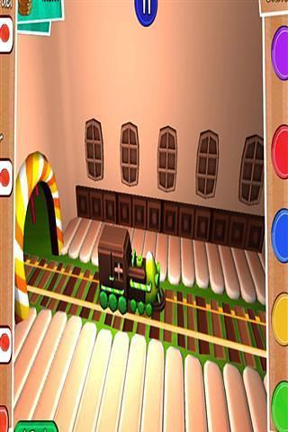 糖果世界火车冒险3D
