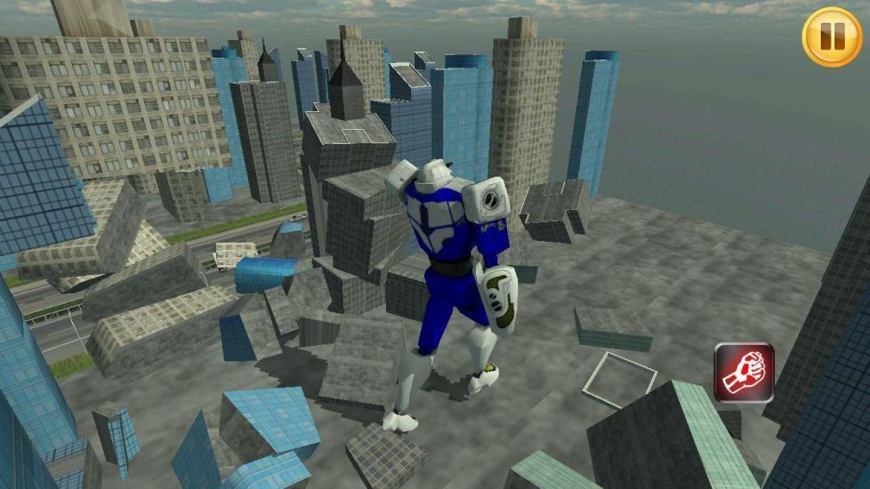 玩免費冒險APP|下載Robots Invasion 3D app不用錢|硬是要APP