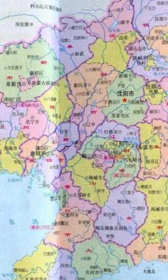 辽宁E都市三维地图