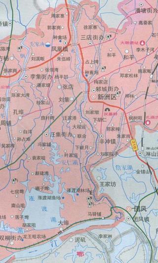 武汉交通地图手册