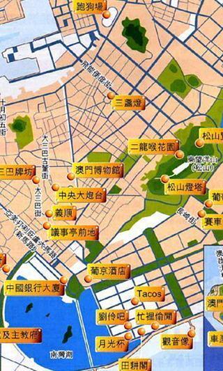 澳门旅游出行离线地图