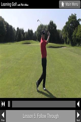 高尔夫视频课程