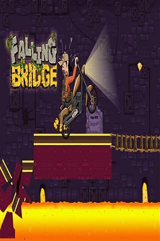 赛 车 坠桥