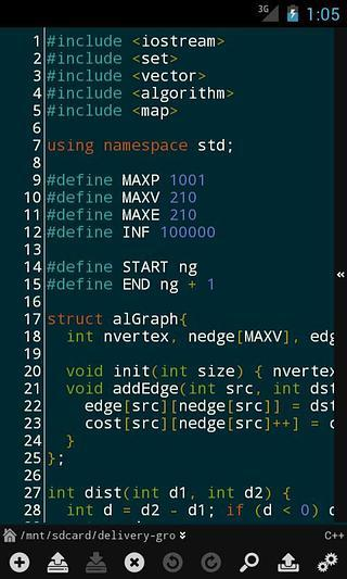 DroidEdit Pro code editor 编辑器