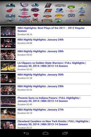 NBA亮点视频