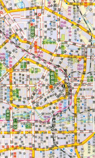 吉林高清路况地图