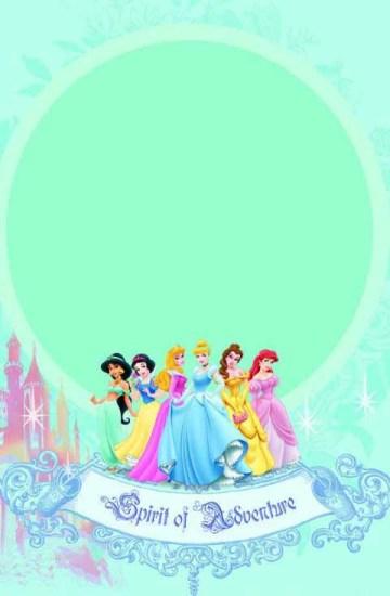 迪士尼小公主纸牌