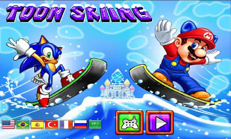 索尼克马里奥滑雪赛