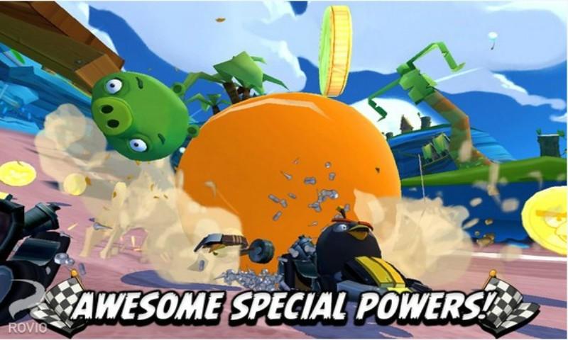 玩賽車遊戲App|愤怒的小鸟卡丁车免費|APP試玩