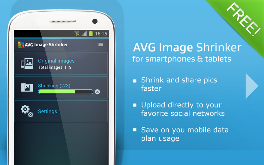 AVG Image Shrinker