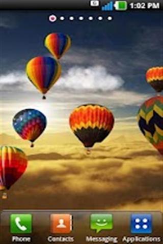 热气球生活壁纸