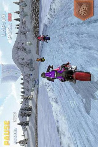 雪上摩托车