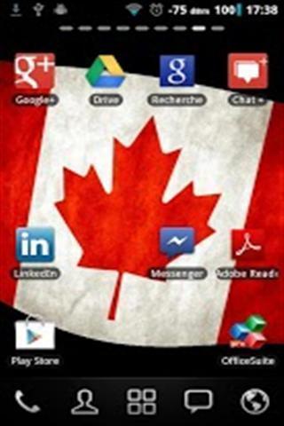 加拿大国旗壁纸