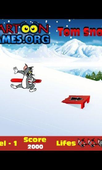 汤姆猫滑雪