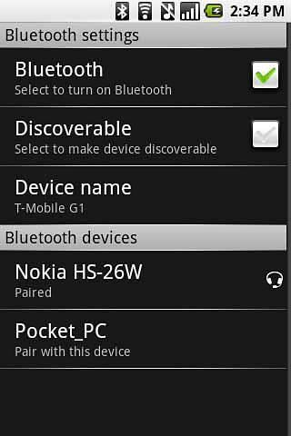 蓝牙 Bluetooth shortcut