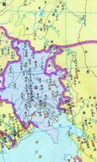 中国古代历史朝代地图