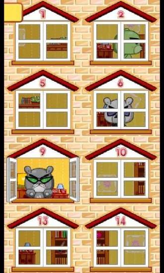 狗教授擦窗