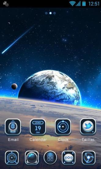 Space GOLauncher EX Theme
