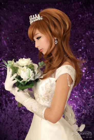 美丽婚纱自己设计