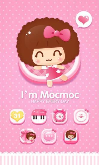 Im Mocmoc GOLauncher EX Theme