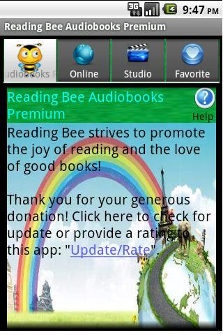 Reading Bee Text Synchronized Audiobooks