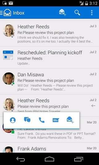 玩工具App|IBM Notes Traveler免費|APP試玩