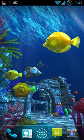 百资大海寻宝3D动态壁纸