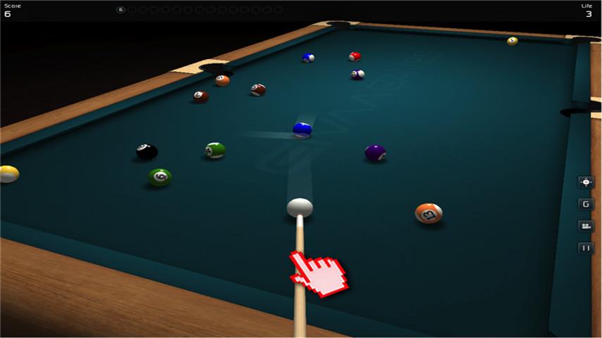 3D桌球拟真版